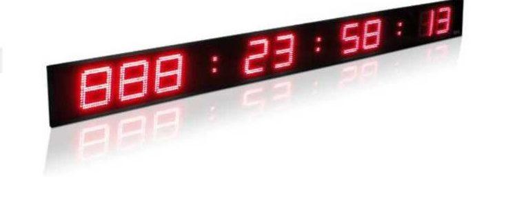 Chronomètres/Compte à rebours LED