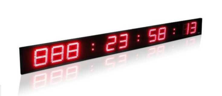 chronomètre ou compte à rebours LED