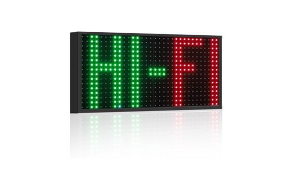Affichage électronique multicouleur RGB20-3