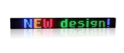 Affichage électronique multicouleur RGB20-7