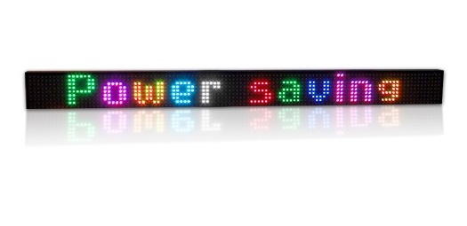 Affichage électronique multicouleur RGB20-8