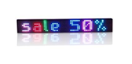 Afficheur lumineux multicouleur RGB25-5