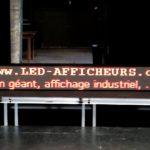 panneau lumineux 36x292cm