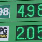 affichage de prix PM diodes vertes
