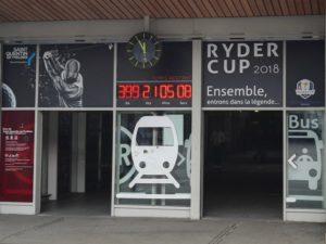 Décompte avant début Ryder Cup 2018