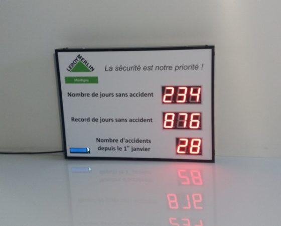 Affichage Led Professionnel écrans Lumineux Horloges