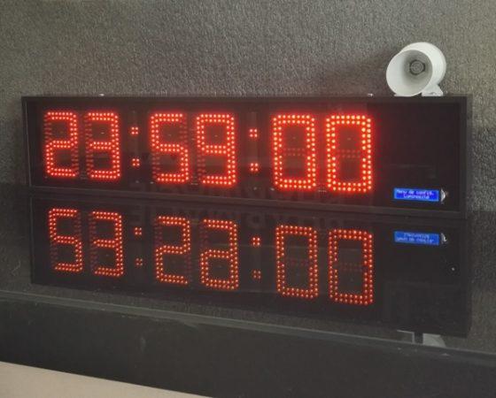 Compte à rebours 6 digit 12cm avec buzzer