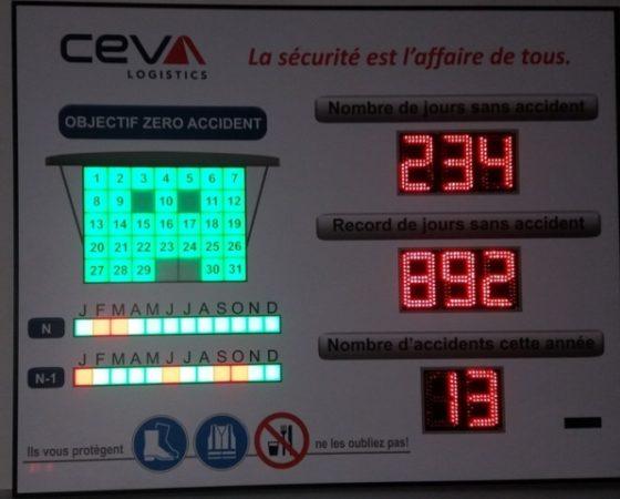 CEVA Logistics 8 Digit de 12cm