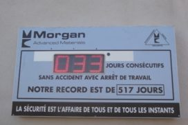 Prolians - Jours sans accident - 3 digit 16cm