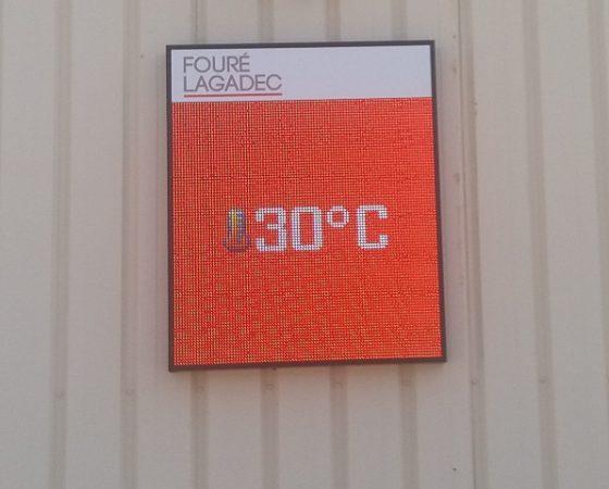 Ecran publicitaire LED RGB10-9