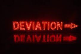 Message lumineux de déviation