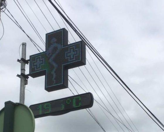 Croix de Pharmacie LED RGB25