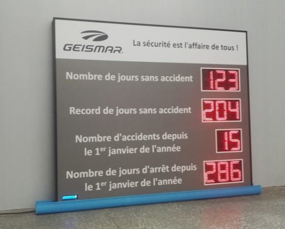 Affichage des Accidents