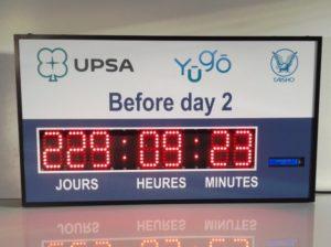 Décompte de jours - UPSA