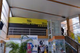 afficheur lumineux jaune