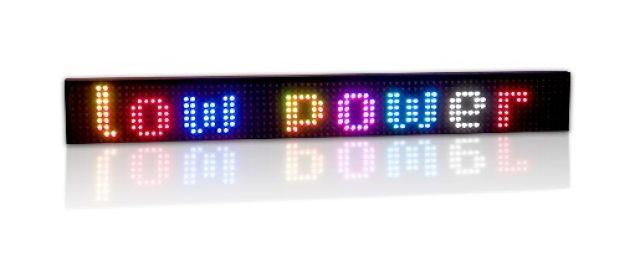 Afficheur électronique multicouleur RGB30-5-K