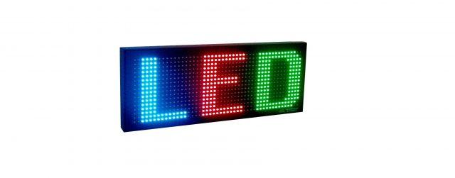 Afficheur lumineux multicouleur RGB25-2
